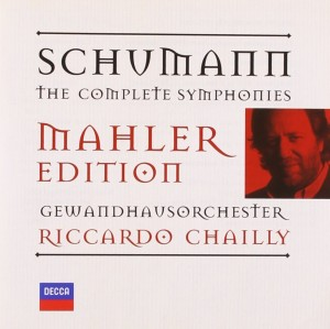 Audio CD Riccardo Chailly. Schumann: The Symphonies (Mahler Edition)