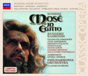 Audio CD June Anderson. Rossini: Mose in Egitto