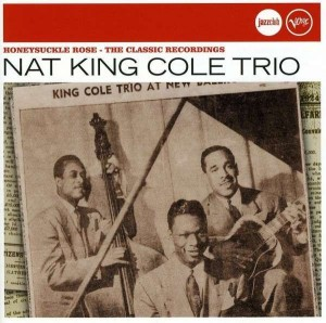 Audio CD Nat King Cole trio. Honeysuckle rose