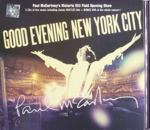 DVD + Audio CD Paul McCartney. Good Evening New York City