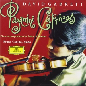 Audio CD David Garrett. Paganini: Caprices for violin, op.24