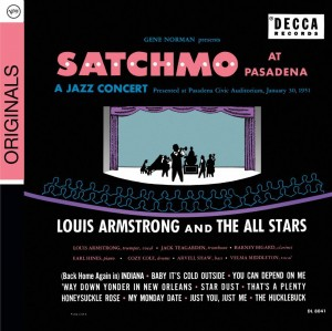 Audio CD Louis Armstrong And The All Stars. Satchmo At Pasadena