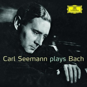 DVD Carl Seemann. Plays Bach