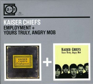 Audio CD Kaiser Chiefs. 2 For 1: Employment/ Yours Truly, Angry Mob