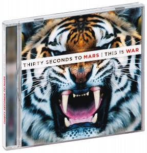 Audio CD 30 Seconds To Mars. This Is War