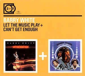 Audio CD Barry White. Let The Music Play/ Can't Get Enough