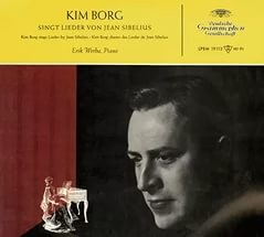 Audio CD Borg Kim. Sings Sibelius Songs