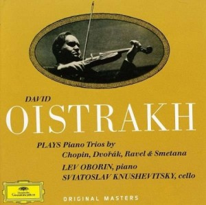 Audio CD David Oistrakh. Piano Trios
