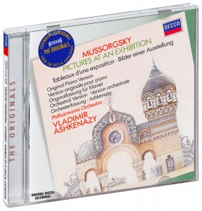 Audio CD Vladimir Ashkenazy. Mussorgsky: Pictures At An Exhibition