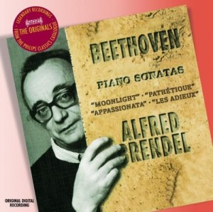 Audio CD Alfred Brendel. Beethoven: Piano Sonatas Nos.8, 14, 23 & 26: