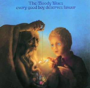 Audio CD The moody blues. Every good boy deserves favour (rem+bonus)