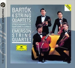 Audio CD Emerson String Quartet. Bartok: The 6 String Quartets