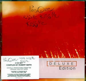 Audio CD The Cure. Kiss Me Kiss Me Kiss Me