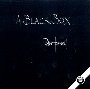 Audio CD Peter Hammill. A Black Box