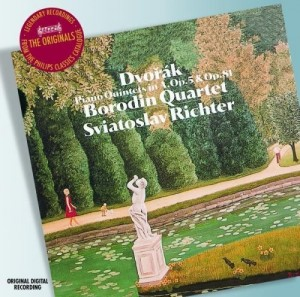 Audio CD Sviatoslav Richter. Dvorak. Piano quintets nos.1 & 2