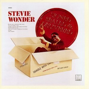 Audio CD Stevie Wonder. Signed, Sealed And Delivered