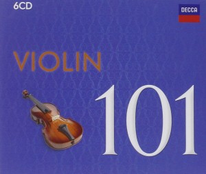 Audio CD Various Artists. 101 Violin