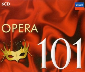 Audio CD Various Artists. 101 Opera