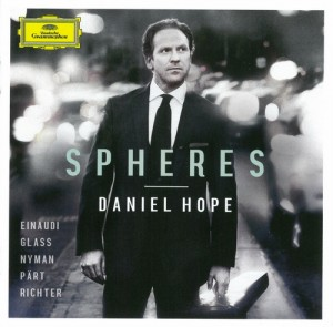 Audio CD Daniel Hope. Spheres