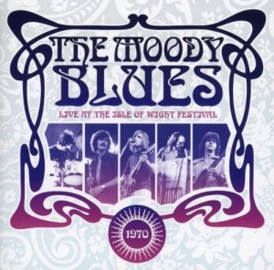 Audio CD The Moody Blues. Live At The Isle Of Wight Festival 1970