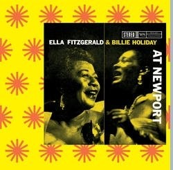 Audio CD Ella Fitzgerald, Billie Holiday, Carmen McRae. At Newport