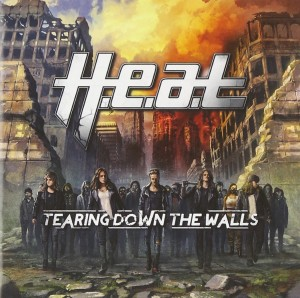 Audio CD H.E.A.T. Tearing Down the Walls
