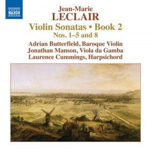 Audio CD Leclair. Violin Sonatas, Book 2 Nos. 1–5 and 8