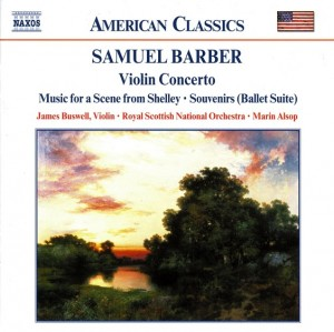 Audio CD Samuel Barber. Barber: Violin Concerto