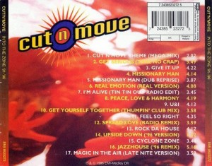 Audio CD Cut`N`Move. Into The Zone `91-`96