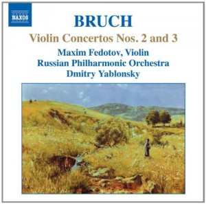 Audio CD Fedotov, Yablonsky, Russian Po. Violin Concertos Nos. 2 and 3