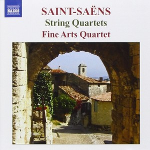 Audio CD Fine Arts Quartet. Saint-Saëns: String Quartets