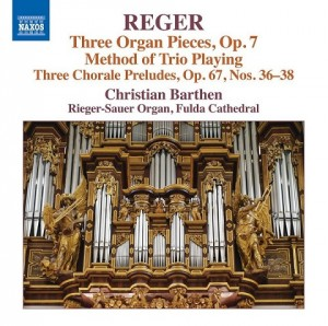 Audio CD Christian Barthen. Reger, M.: Organ Works, Vol. 16 (Christian Barthen)