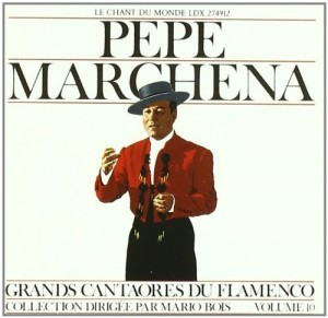 Audio CD Great Masters Of Flamenco Series. Pepe Marchena