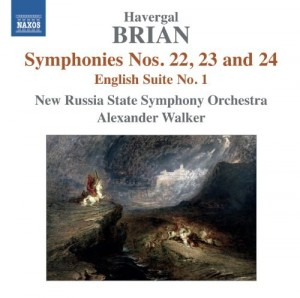 Audio CD Havergal Brian. Symphonies 22-24 (Walker/New Russia State So)