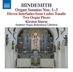 Audio CD Kirsten Sturm. Hindemith, P. Organ Sonatas Nos. 1. 3, Eleven Interludes, Two Organ Pieces (Kirsten Sturm)