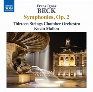 Audio CD Thirteen Strings Chamber Orchestra, Kevin Mallon. Symphonies Op. 2