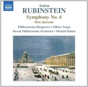 Audio CD Anton Rubinstein. Symphony No. 6 / Don Quixote