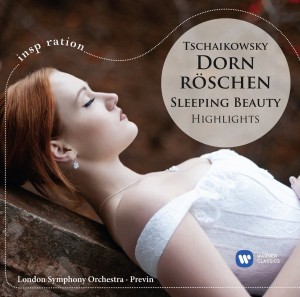 Audio CD André Previn. Tchaikovsky. Sleeping beauty (highlights)