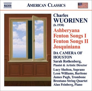 Audio CD Charles Wuorinen. Ashberyana, Fenton Songs I and Ii, Josquiniana