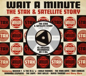 Audio CD Various Artists. Wait A Minute - The Stax & Satellite Story