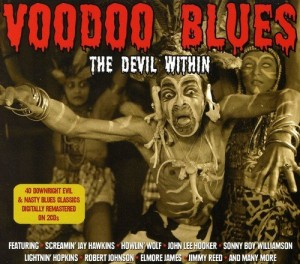 Audio CD Various Artists. Voodoo Blues - The Devil Within