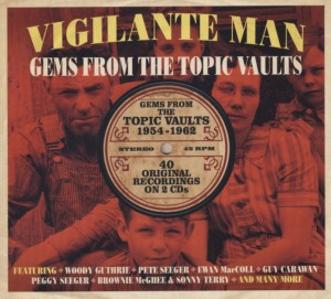 Audio CD Various Artists. Vigilante Man: Gems From The Topic Vaults 1954-1962