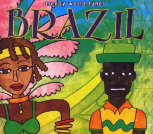 Audio CD Various Artists. Trendy World Tunes - Brazil