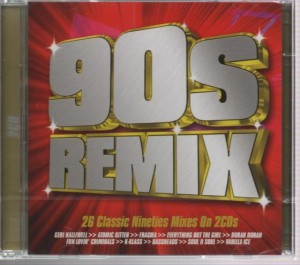 Audio CD Various Artists. 90s Remix (26 Classic Nineties Mixes On 2CDs)