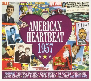 Audio CD Various Artists. American Heartbeat 1957