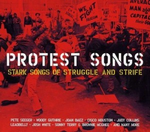 Audio CD Various Artists. Protest Songs