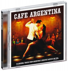 Audio CD Various Artists. Cafe Argentina