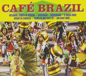 Audio CD Various Artists. Cafe Brazil