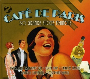Audio CD Cafe De Paris. 50 Grands Succes Francais