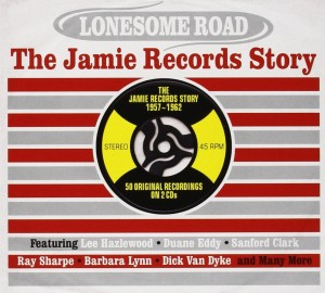 Audio CD Various Artists. Lonesome Road - The Jamie Records